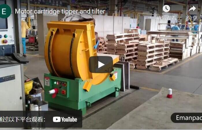 motor cartridge tipper machine