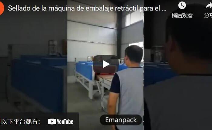 side sealing shrink wrap machine packing rock wool insulation boards