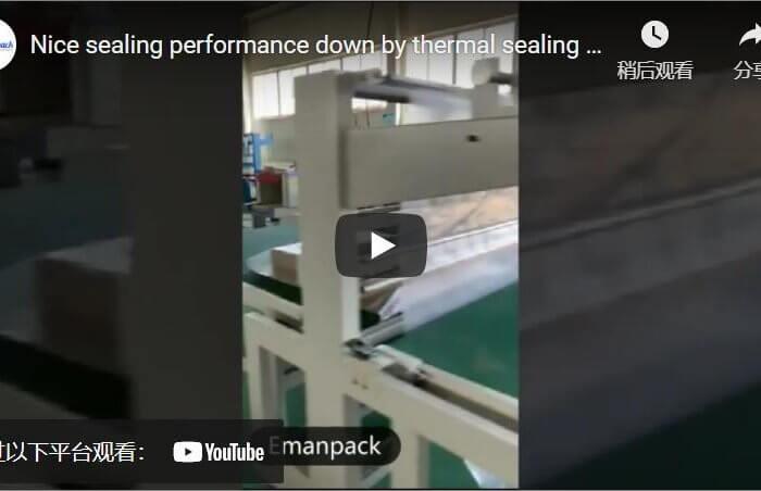 sealing performance of thermal shrink wrap machine