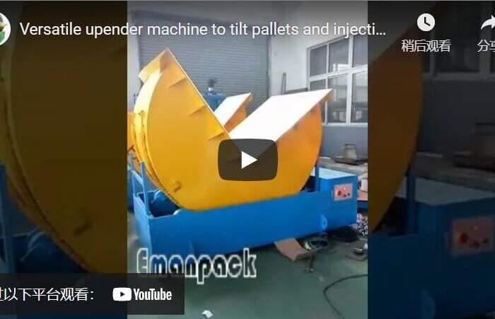 electrical injection mold and casting die upender machine